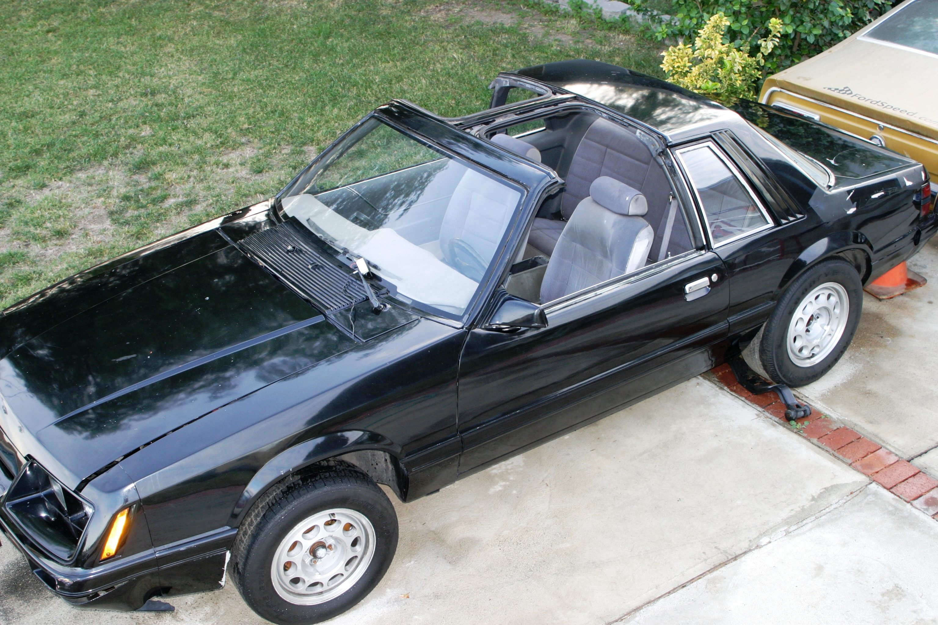 T Top Mustang >> Makemania Autos 1986 Ford Mustang Lx T Top Coupe