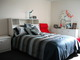 Single person rental bedroom