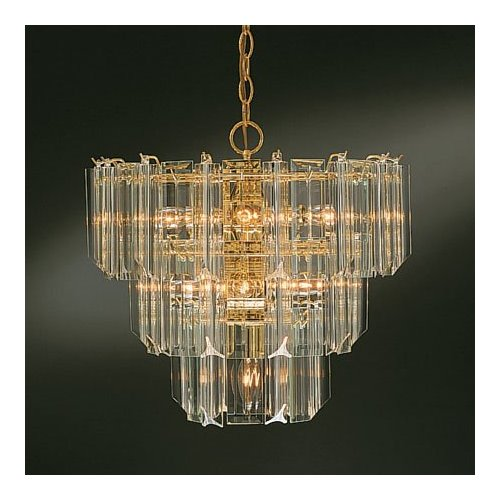 makeMania HomeBrass and Glass to Class – Brass and Glass Chandelier