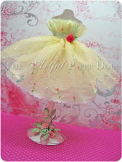Fairy Tale Crepe Paper and Tulle Dress