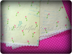 Collage Style Patterned Crepe Paper