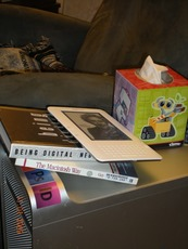 G5 Floor Lamp with reading material