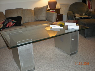 G5 Coffee Table Front View