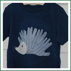 Handprint Hedgehog Tee