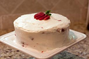 Final Product - Strawberry Shortcake Cake