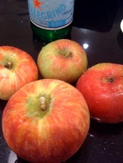 Assorted fresh apples: As many as you like.