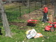 Remove grass with flat shovel.  Rent a tiller