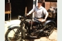 My 1925 Harley JD on the day I bought it.